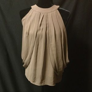 ADIVA Flowing Taupe Blouse